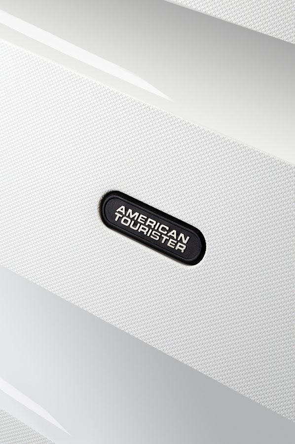 1ca8502ebfbab American Tourister Bon Air Walizka na 4 kołach 55cm Biały   Rolling ...