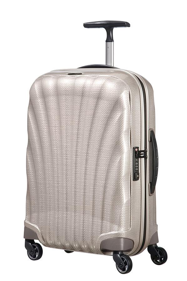 64471a03b96c9 Samsonite Cosmolite Walizka na 4 kołach 55cm Pearl | Rolling Luggage