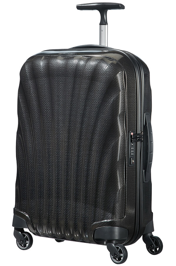 e65cf5d5beb89 Samsonite Cosmolite Walizka na 4 kołach 55cm Czarny | Rolling Luggage