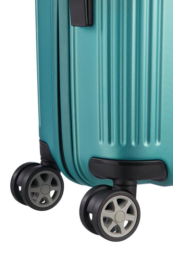 b5c6034caa635 Samsonite Orfeo Walizka na 4 kołach 55cm Blue Lagoon | Rolling Luggage